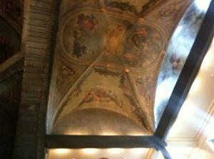 plafond schilderingen stadhuis maastricht